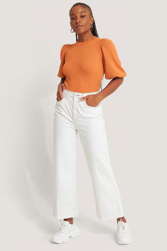 Halia Short Sleeve Top Outfit
