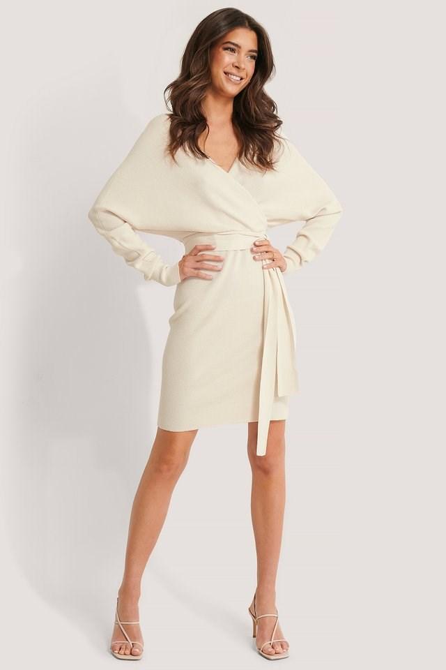 Knitted Belt Dress