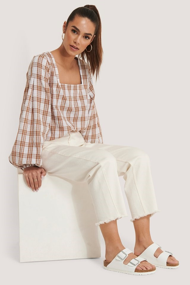 Structure Check Blouse