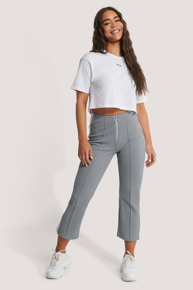 Magola Oversized Cropped Tee