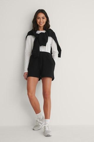 Black Cool sweat Shorts
