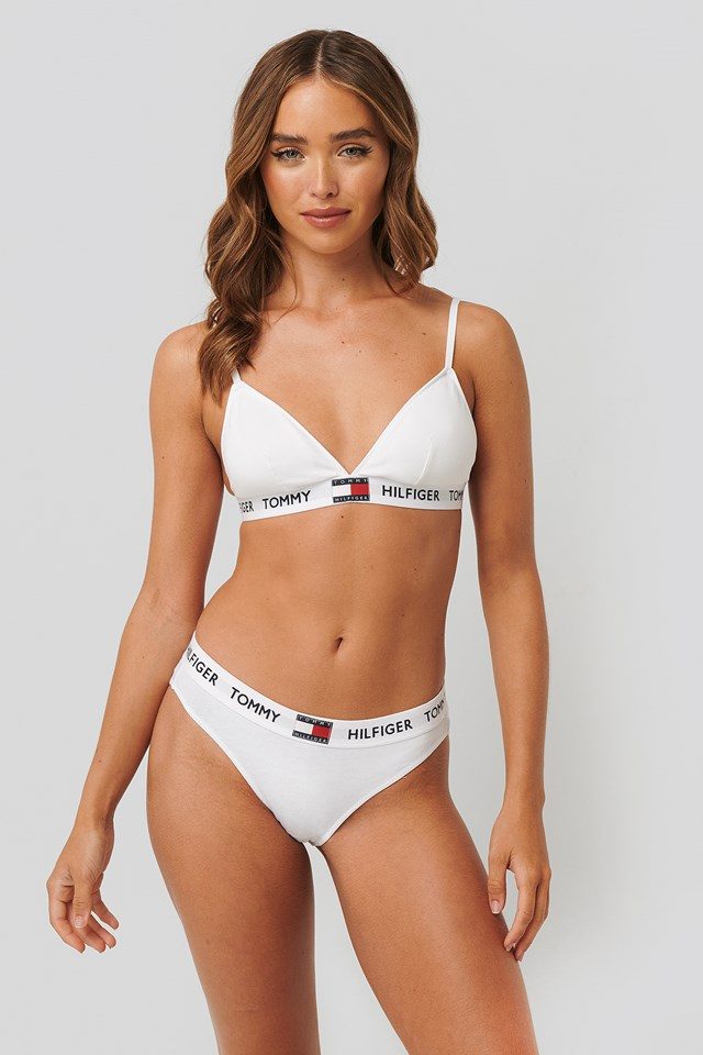 Bikini Coordinate Cotton Panties Classic White