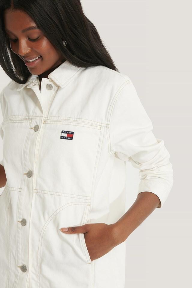 Workwear Jacket Work White Rigid