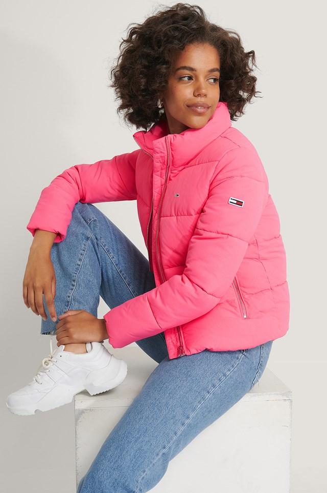 Modern Puffer Jacket Pink