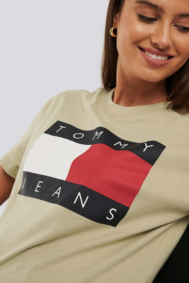 Tommy Flag Tee Tommy Jeans