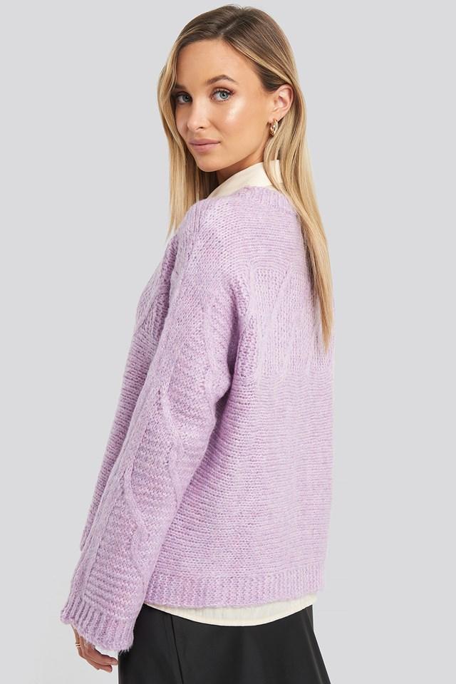 Lila Knit Detail Sweater