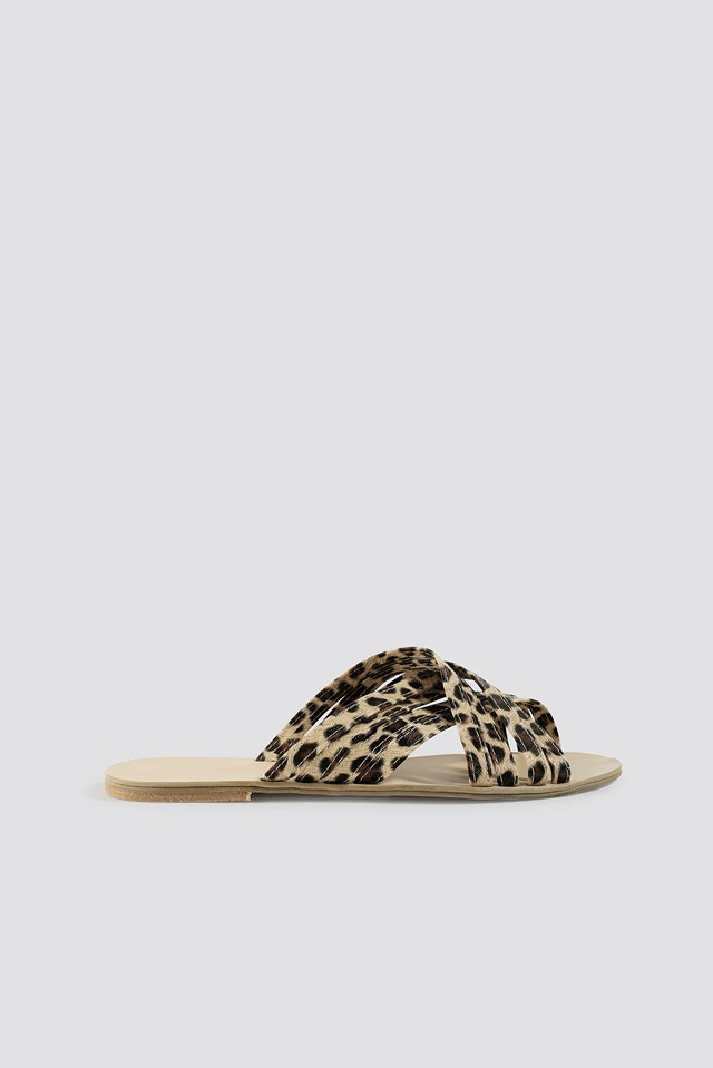 Leo Slippers Brown