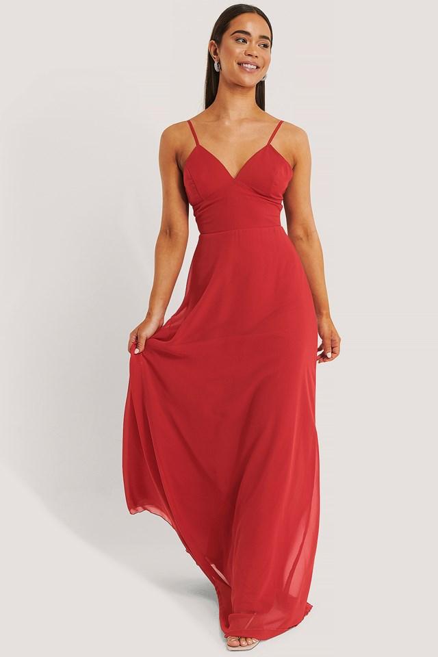 Evening Dress Red