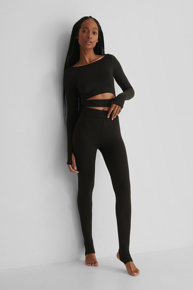 Mia Sport Leggings Black