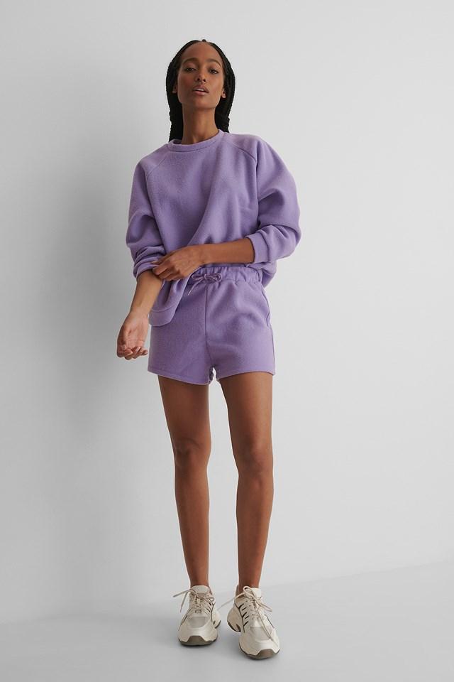 Milla Basic Shorts Lila