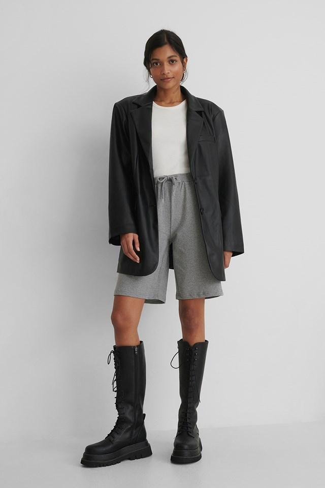 Soft Shorts Grey
