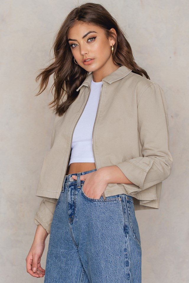 Shirt Jacket Beige