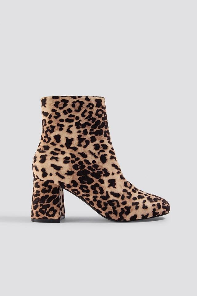 Rebecca Leopard Boot XLE the Label