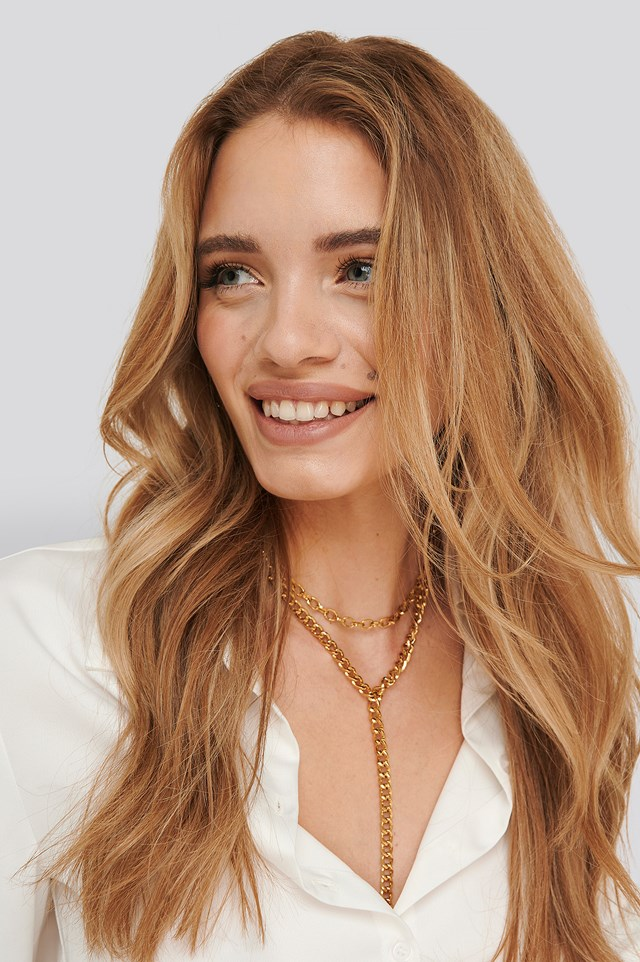 Statement Necklace Gold